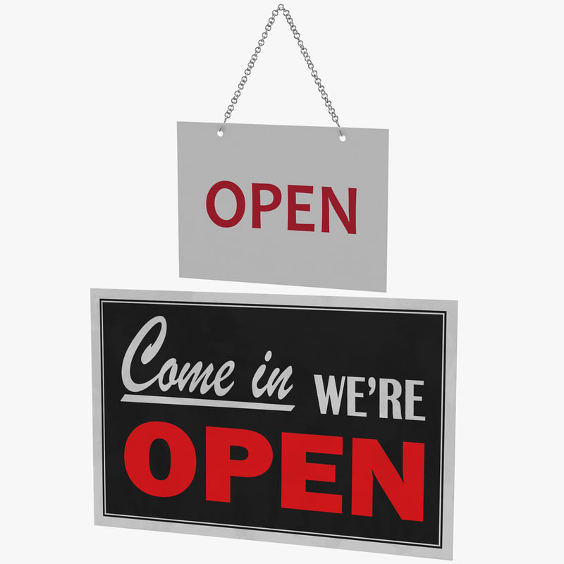 3D open-closed signs 01