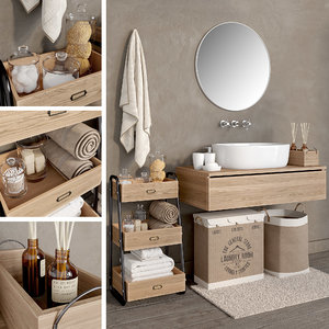 3D bathroom 4 model