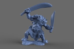 ogre warcraft model