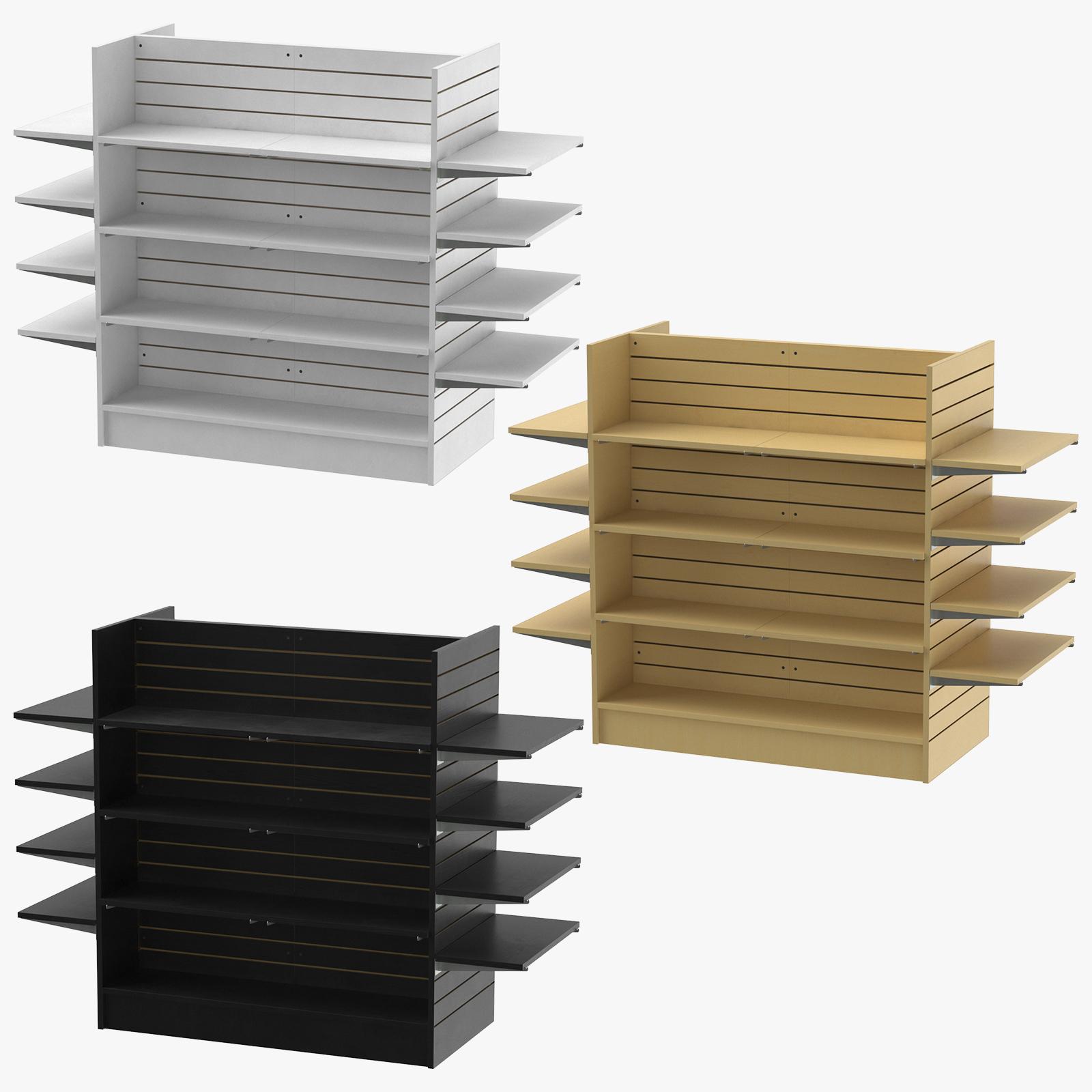Slat Wall Gondolas And Shelves 02