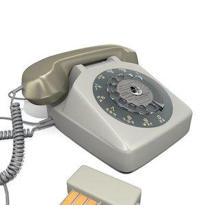 dial phone model