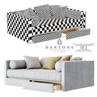 ripley sofa bed 3D model