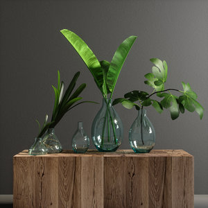 decorative set 02 3D model