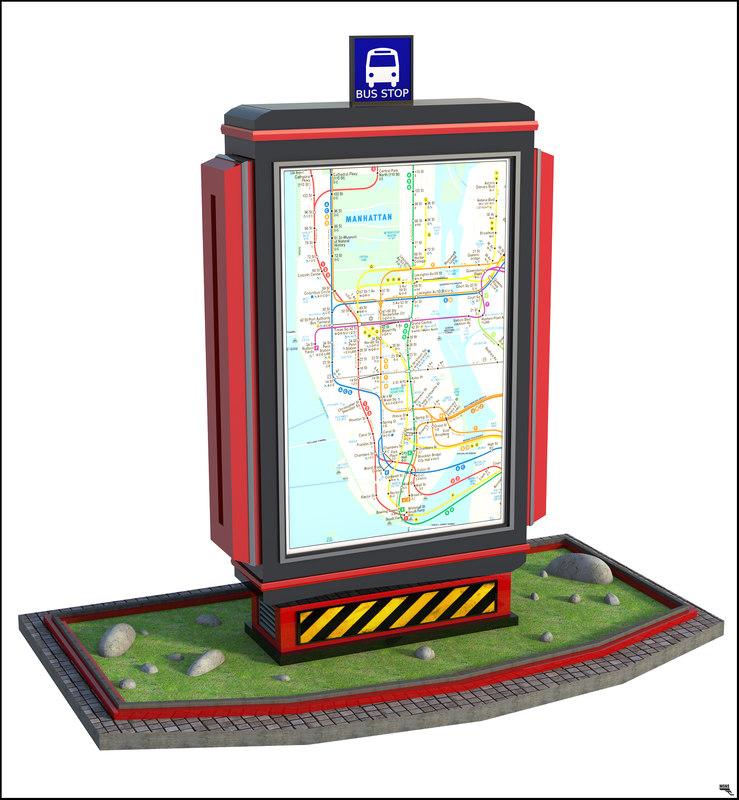 3D bus panel
