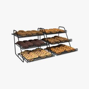 3D cookie racks