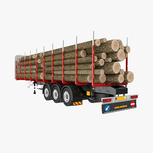 3D timber trailer