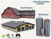 Barn House Warehouse and Grain Storage