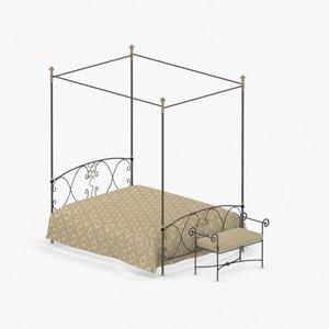 interior - bed 3D