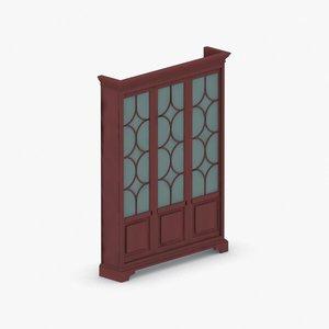 3D interior - sets closet model