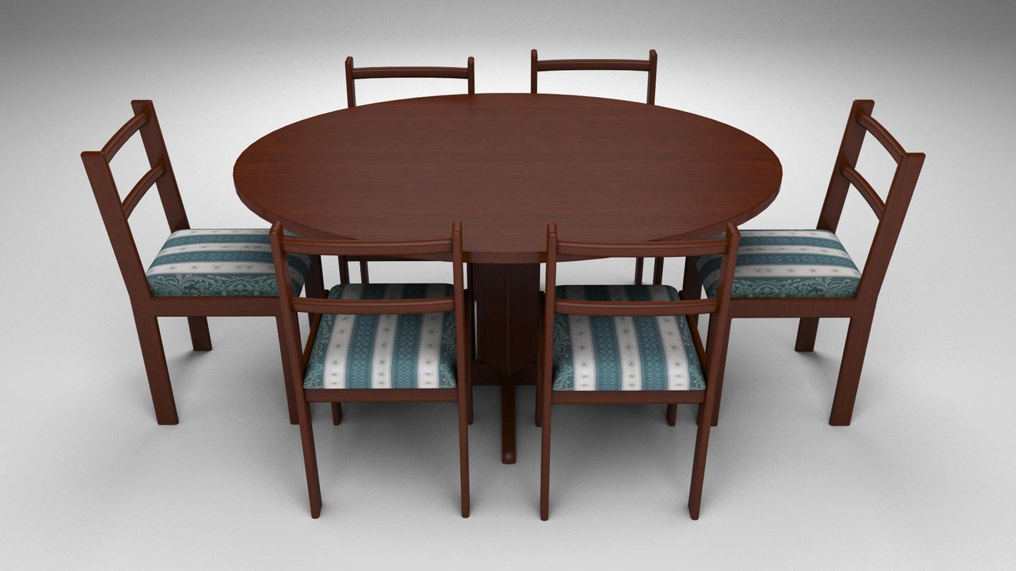 dinner table model