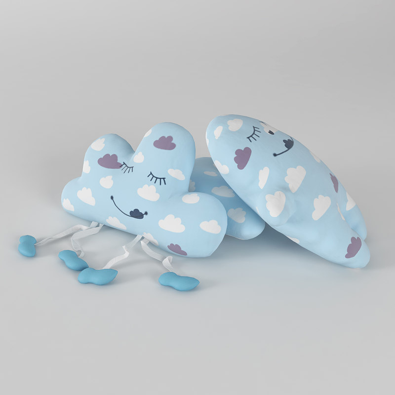 toy pillows 3D model
