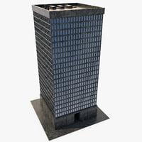 3D building 02 model
