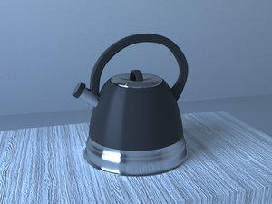 3D model teapot pot tea