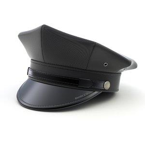 driver cap 3D