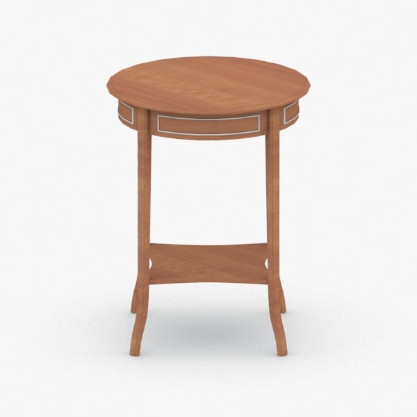 interior - table 3D model