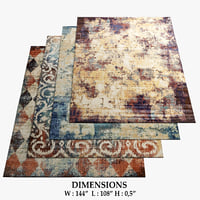 3D area rugs 11