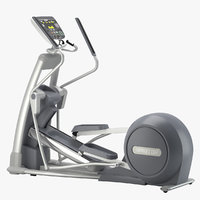 3D gym precor elliptical orbitrec