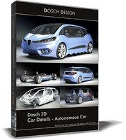 Dosch 3D - Car Details - Autonomous Car