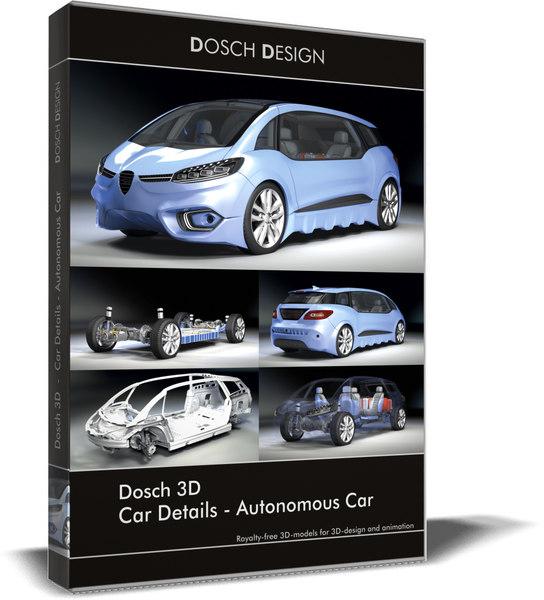 3D car details - autonomous