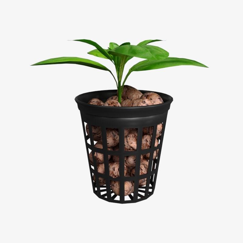 mesh pot 3D model