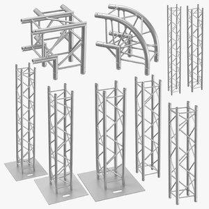 3D stage truss 01