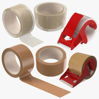 packing tapes 3D model