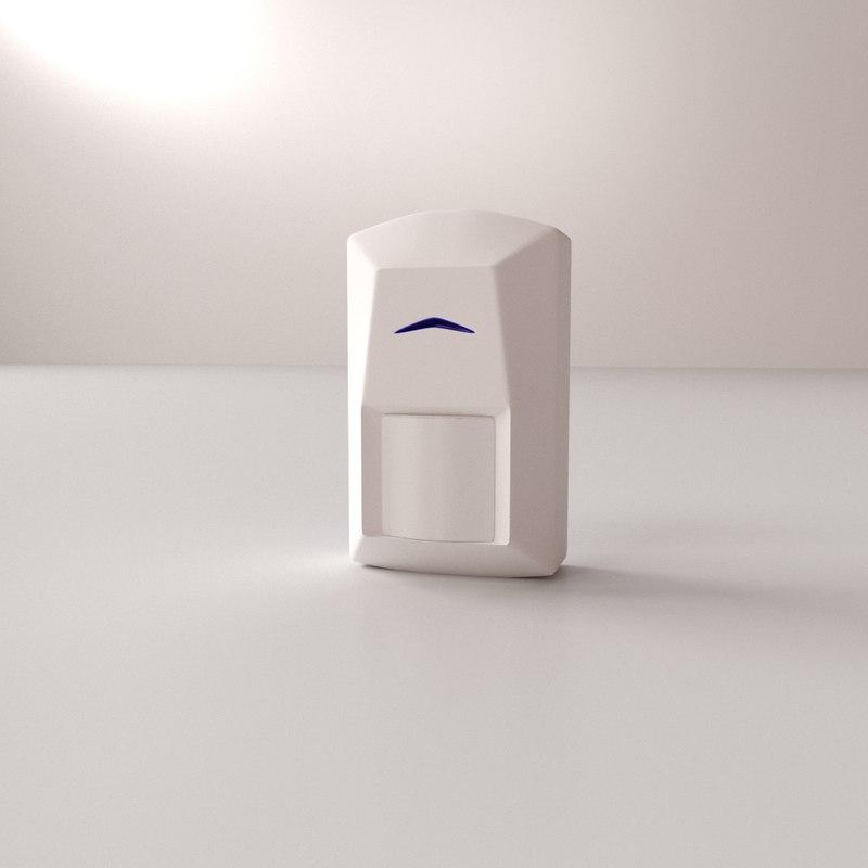 pir sensor v2 3D