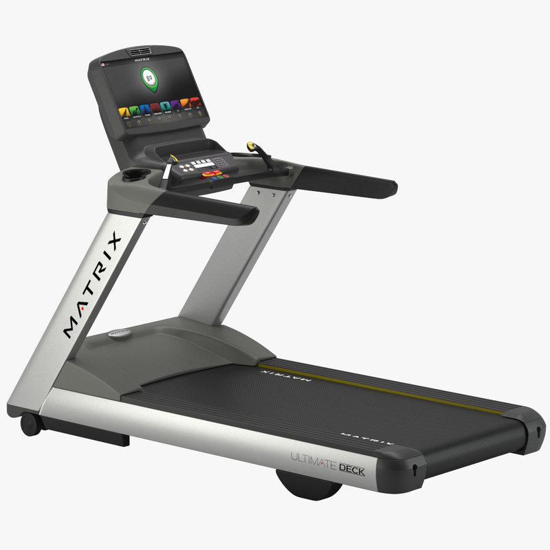 gym matrix t7xi treadmill 3D model