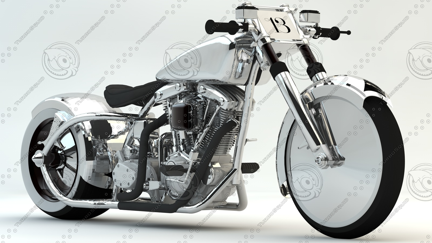 fictional motorcycle lovers 3D