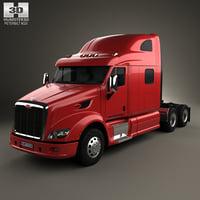 587 tractor 2010 3D model