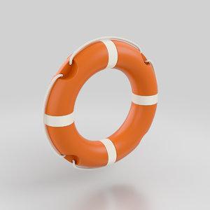 3D lifebuoy life