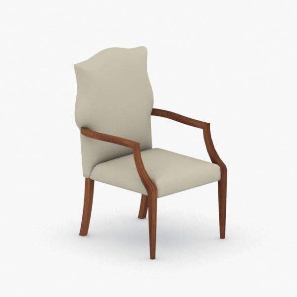 interior - armchair chair stool 3D