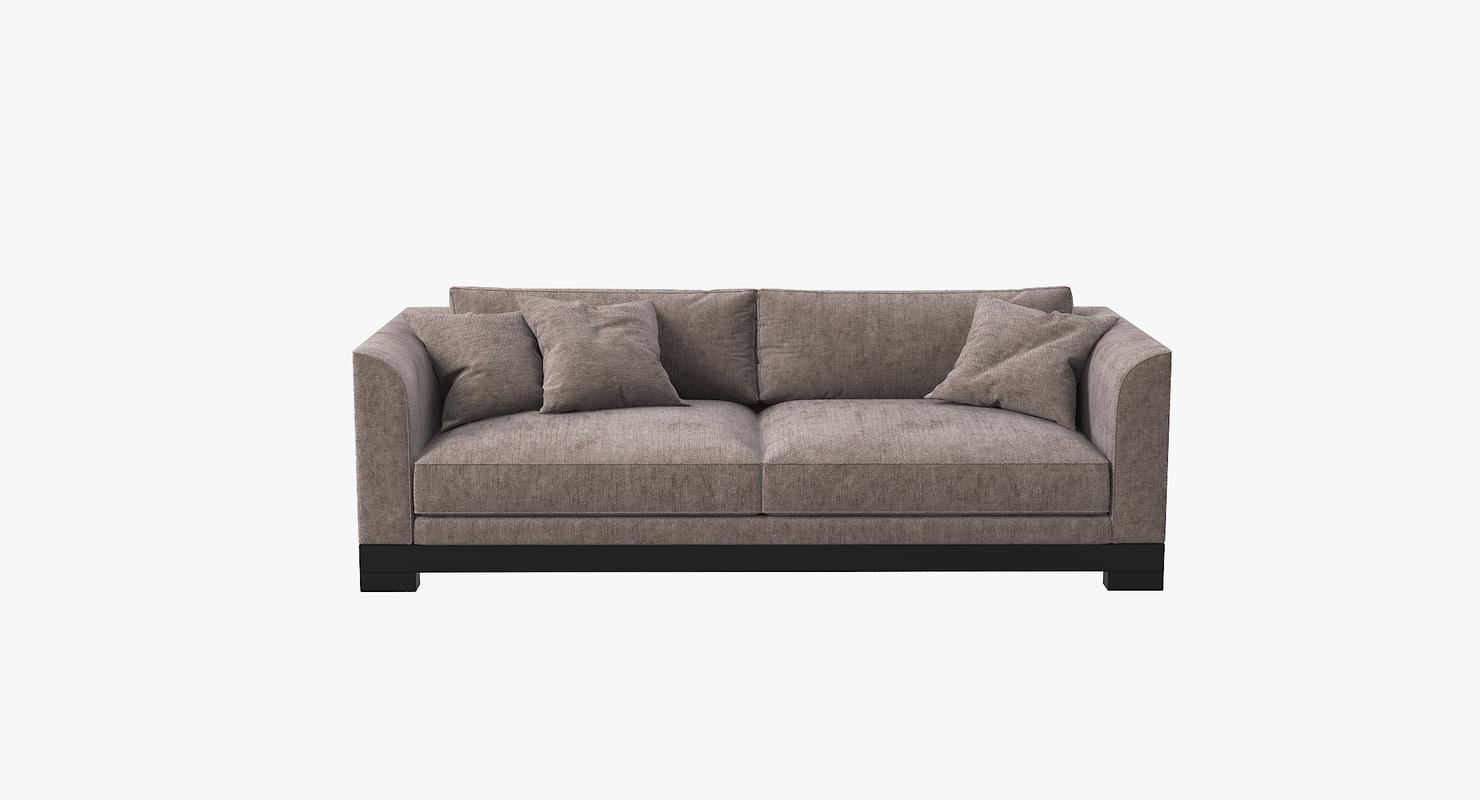 contemporary sofa 3D