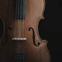 3D cello model
