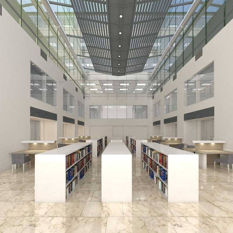 3D realistic library
