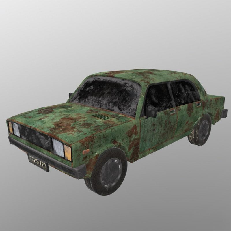 3D asset car