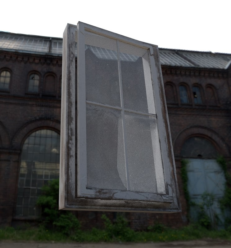 3D abandoned window