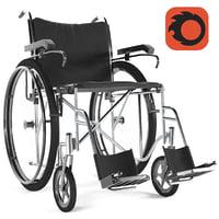 wheelchair osd 3D model
