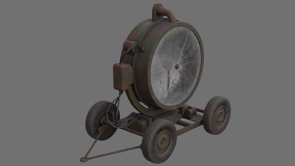 searchlight 1b 3D model