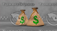 money bag 3D