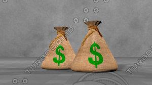 money bag 3D