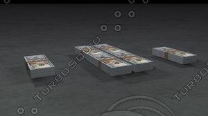 100 dollar bill model