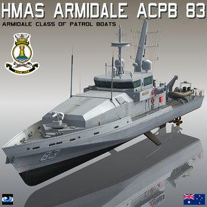 hmas armidale acpb 83 3D