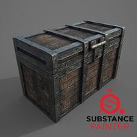 chest modeled 3D model
