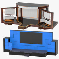 3D stages award tech model
