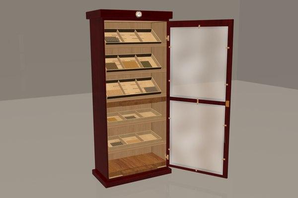 humidor cigars model