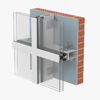 glazing construction model