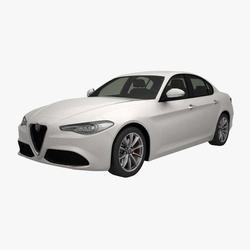 alfa romeo giulia 2018 3D model