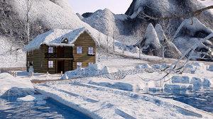 environment mountains model
