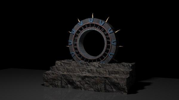 3D portal model